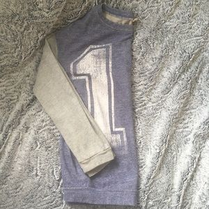 Blink Blue and Grey Sweater